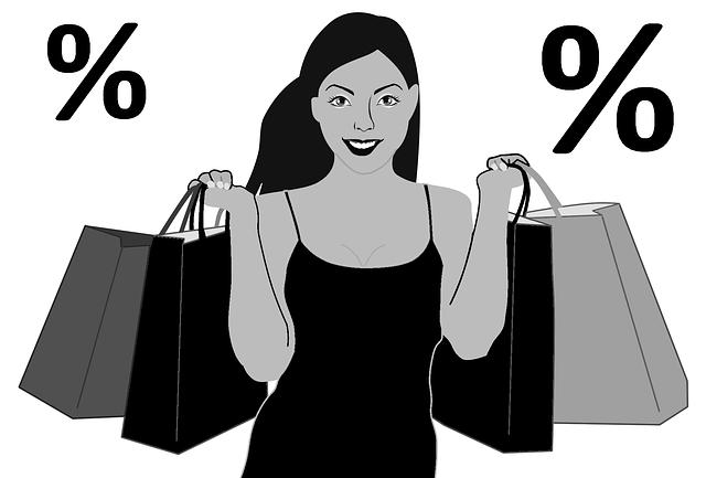 nákupy ve výprodeji