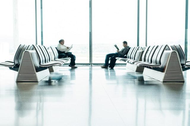 čekání na let