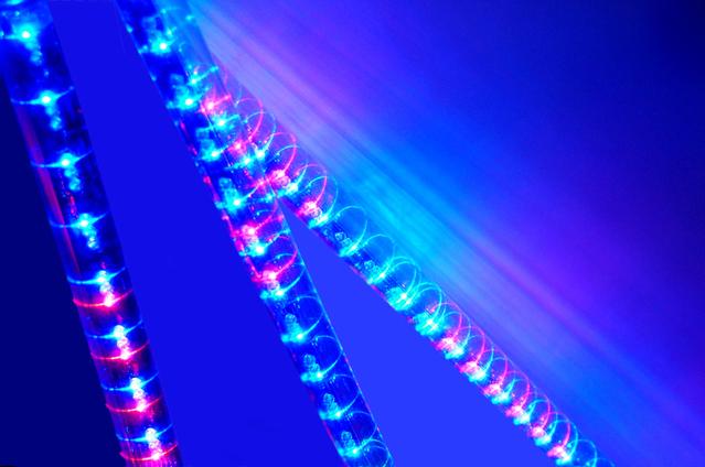 Led diódy, farebné diódy led v trubici, osvetlenie.jpg